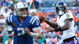 Carson Wentz and Lamar Jackson will face off in the Carson Wentz and Lamar Jackson will face off in the Colts vs Ravens live stream