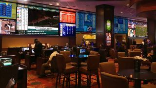 Silver Legacy Sports Book Wins Big with Panoramic Video Wall