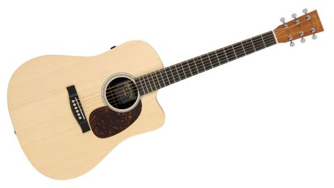 The '5'-tier Performing Artist series guitars use high pressure laminates with a koa-pattern top layer