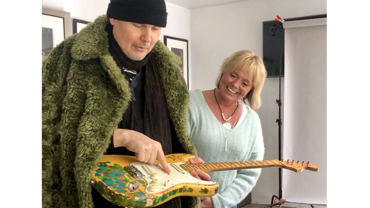 Billy Corgan reunites with stolen Gish-era Strat after 27 years - exclusive behind-the-scenes report