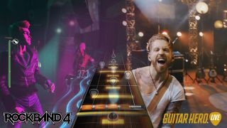 Rock Band 4 vs Guitar Hero Live