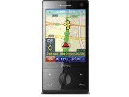 The CoPilot on the HTC Touch Diamond
