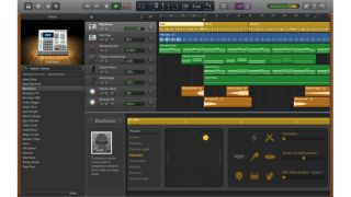 New Drummers are part of the GarageBand 10.1 package.