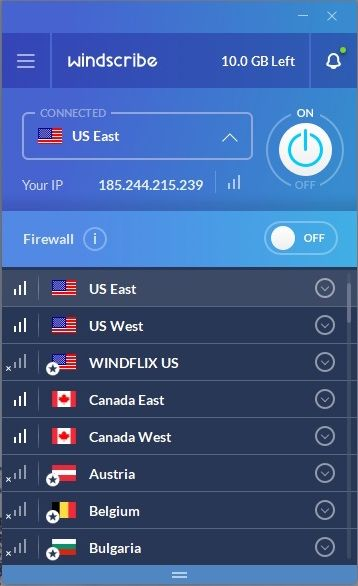Windscribe Free VPN - Full Review and Benchmarks | Tom's Guide
