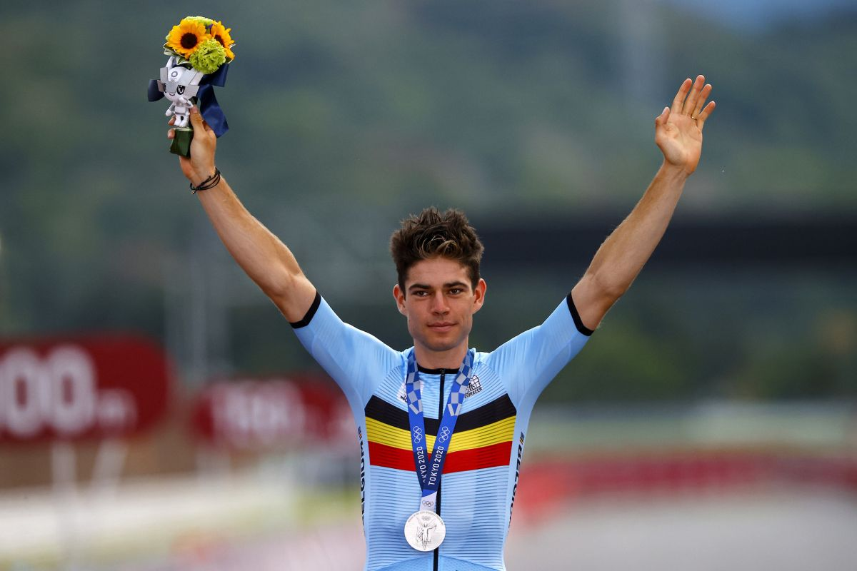 Olympics: Wout van Aert sees the silver lining