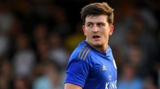 Harry Maguire Leicester City Manchester United