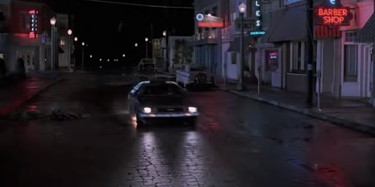 Marty before going back to the future in Back To The Future