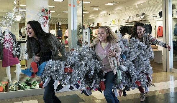 Bad Moms Christmas Mila Kunis Kristen Bell Kathryn Hahn Christmas tree theft