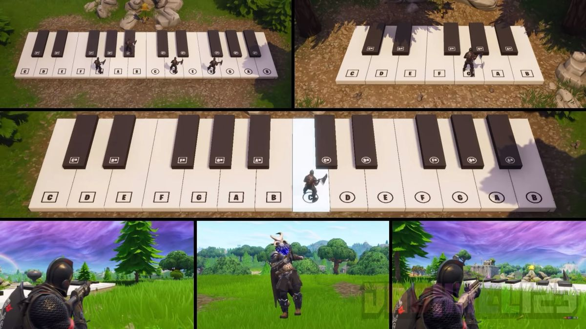 """Remaking Fortnite emote songs with the in-game piano takes skill, effort, and """"a lot of spare time"""""""