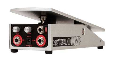 The pedal's parameters can be fine-tuned with the two rotary knobs and there's a tuner output