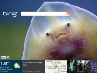 Bing - brings out the tiling