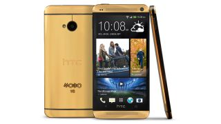 Limited edition Gold HTC One trumps iPhone 5S and Galaxy S4