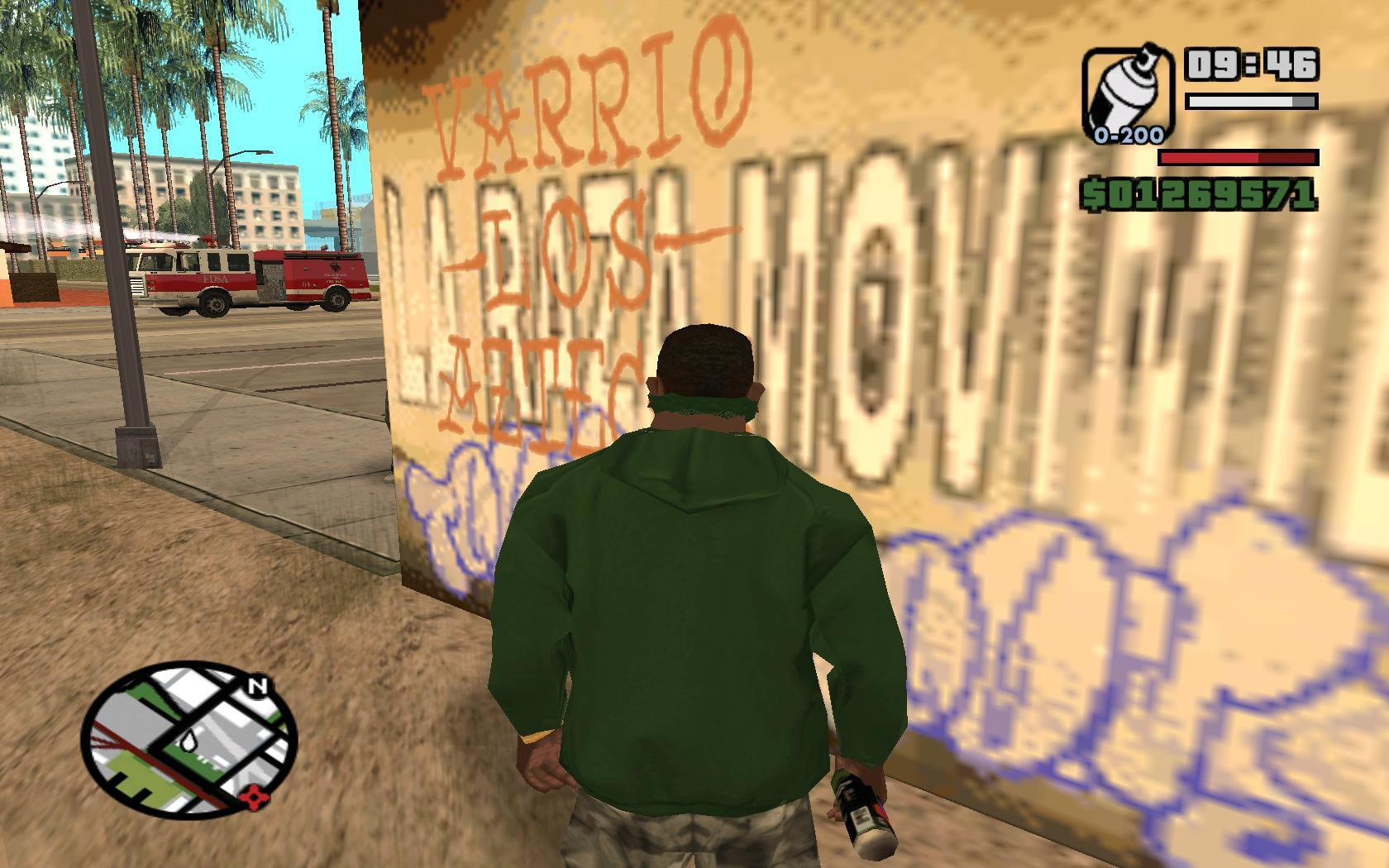 gta san andreas gang spawn mod
