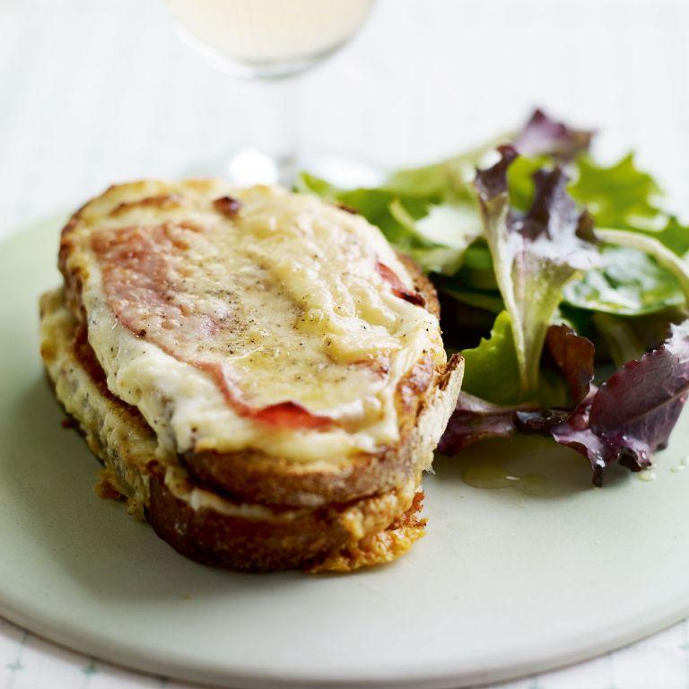Classic Croque Monsieur recipe-sandwich recipes-recipe ideas-new recipes-woman and home