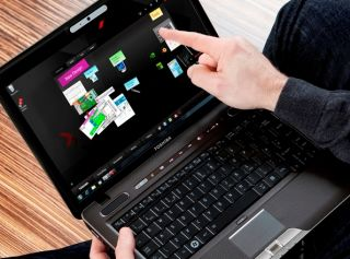 Toshiba's new Satellite U500-1EX laptop