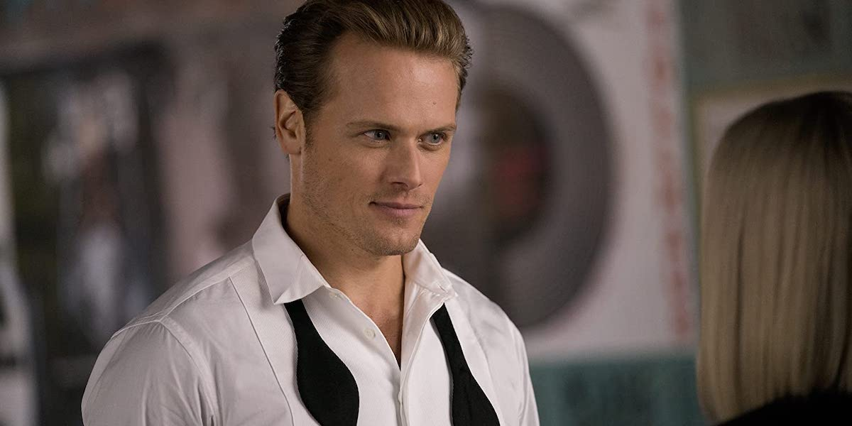 Sam Heughan in the Spy Who Dumped Me