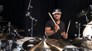 Incredibly, Tony got his start on the drums at the age of three