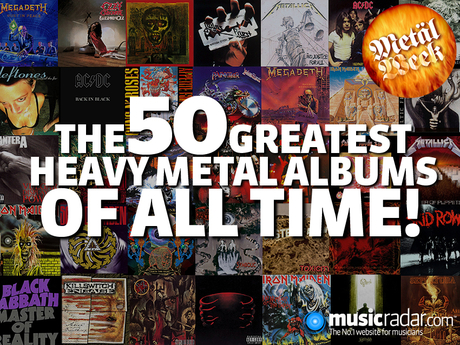 The 50 Greatest Heavy Metal Albums Of All Time | MusicRadar