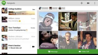 Google Hangouts may get SMS support, iMessage feels the fear
