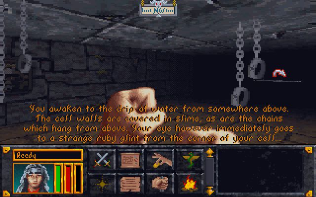 elder scrolls arena how to play