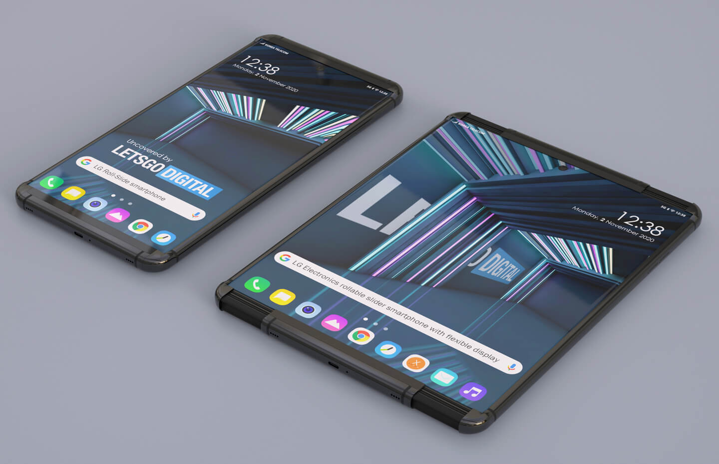 Foldable phones are so 2020 — LG's stunning rollable just revealed | Tom's  Guide