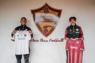 Stellenbosch FC duo Fuad Johnson and Antonio Van Wyk