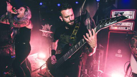 Art for Venom Prison and Corrupt Mortal Altar live at Black Heart, London