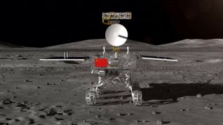 Image of Chang'e-4 lunar rover