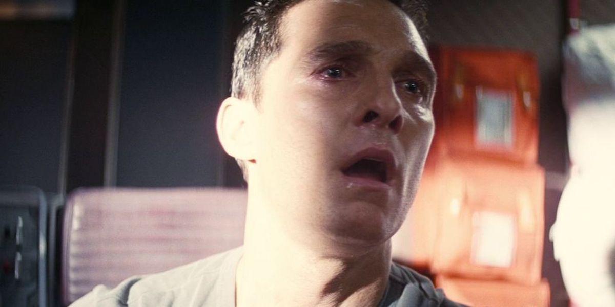 Matthew McConaughey sad sequence in Christopher Nolan's Interstellar