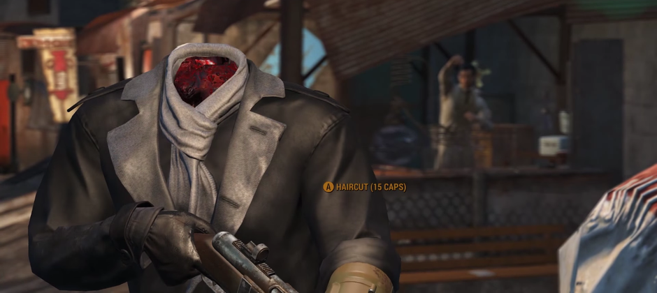 Fallout 4's next update will make sure your head stays on until you die