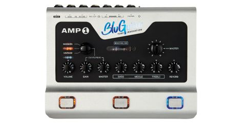 The Amp 1 captures the simplicity of a vintage head, but there's a huge amount of control on tap