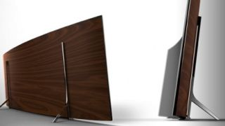Samsung s curved 4K TV of the future arriving in the present on April 14