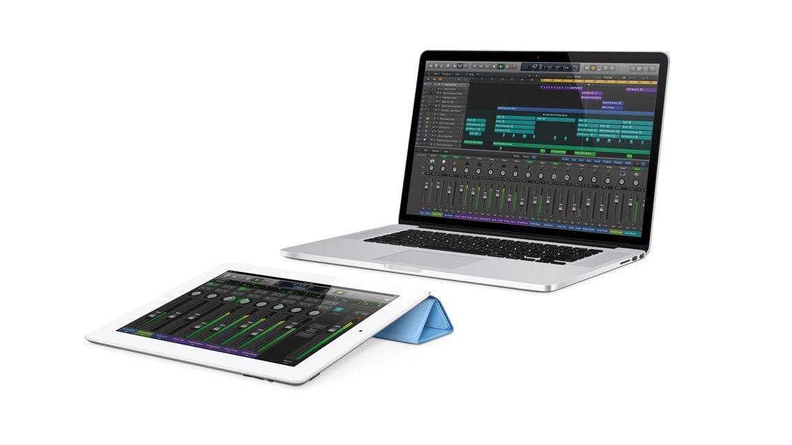 how to control logic pro from your ipad with logic remote musicradar. Black Bedroom Furniture Sets. Home Design Ideas