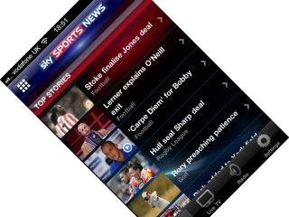 Sky Sports News app for iPhone