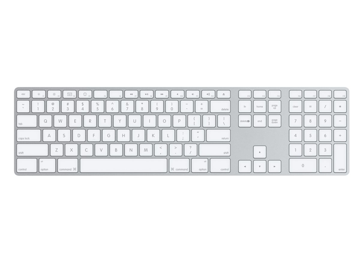 apple keyboard 2007 wireless review techradar. Black Bedroom Furniture Sets. Home Design Ideas