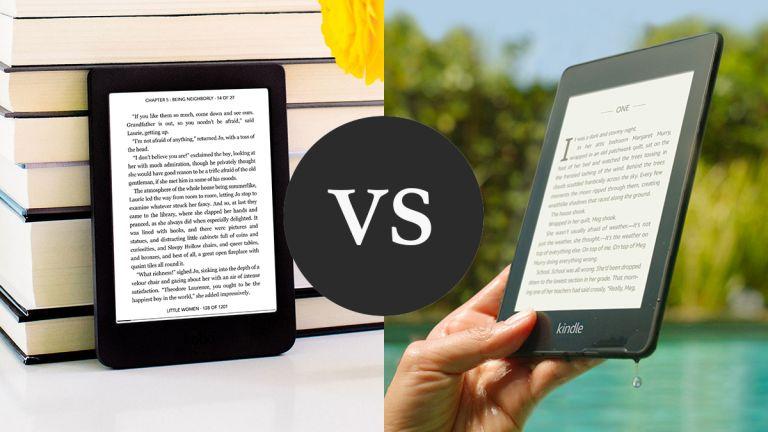 Kindle Paperwhite vs Kobo Nia