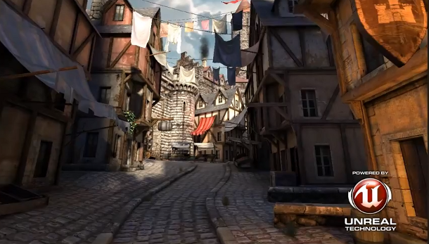 Epic's Unreal Engine 3-powered Epic Citadel tech demo