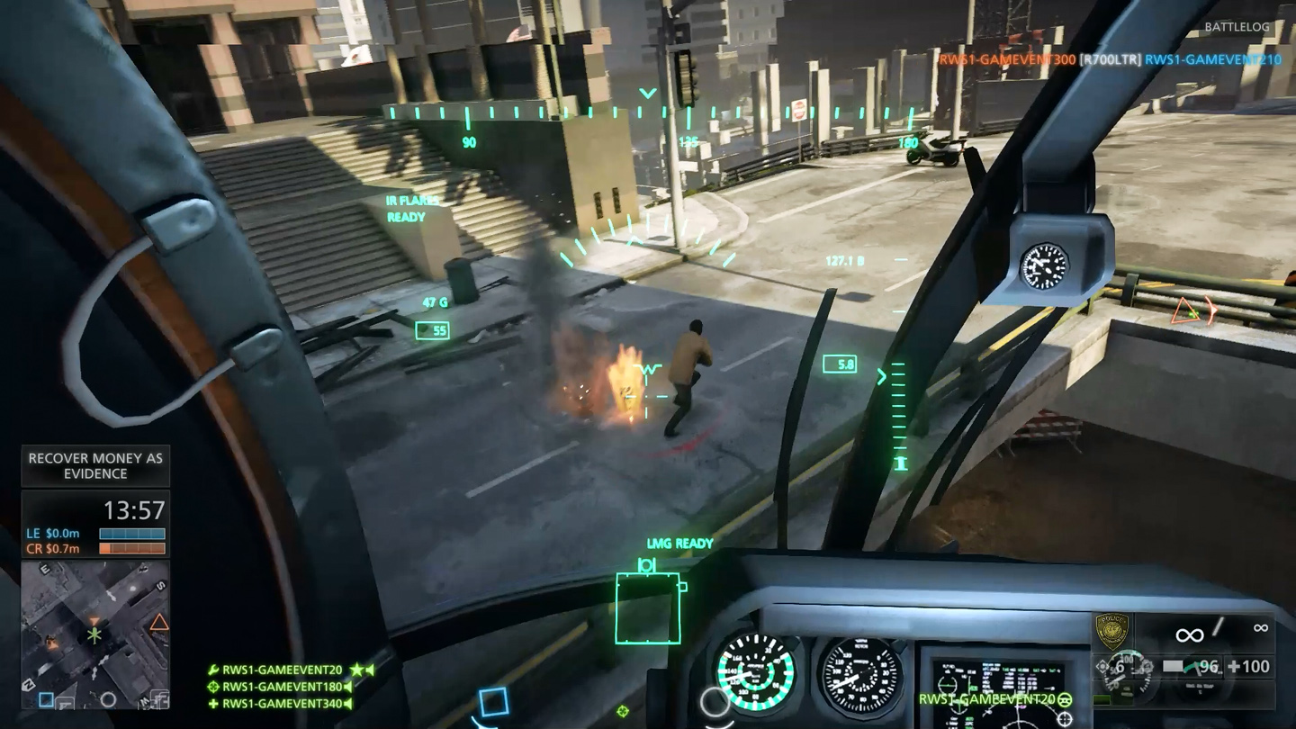 Visceral On Why Battlefield Hardline Feels So Similar To Bf4 Because It S A Battlefield Game Pc Gamer