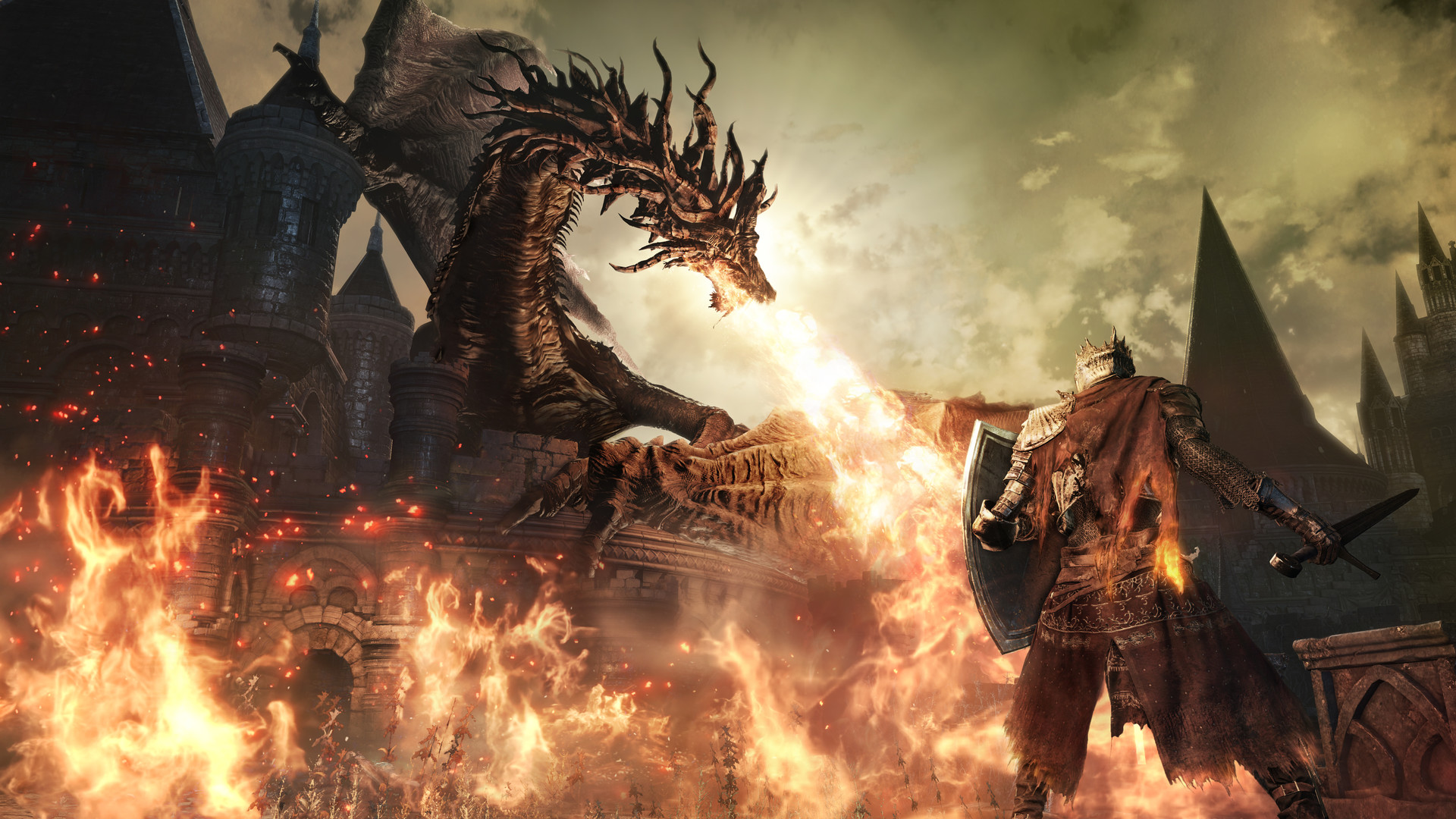 See Dark Souls 3's first boss beaten with bare fists in 60fps