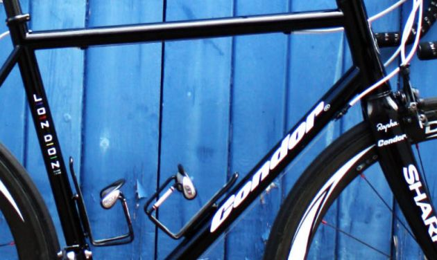 Condor's prototype steel frame for Dan Craven detail