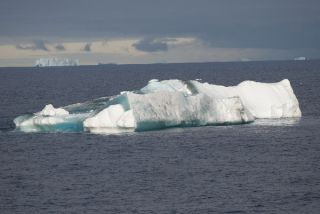 Gray Weddell Sea Iceberg - Do NOT Repubish