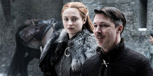 Game of Thrones Sansa Stark Sophie Turner Littlefinger Aiden Gillen