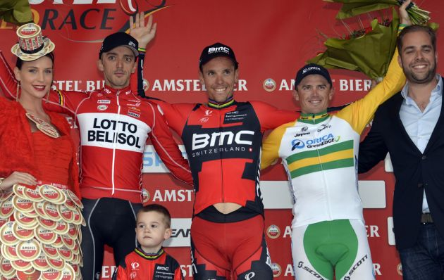 Philippe Gilbert wins the 2014 Amstel Gold Race