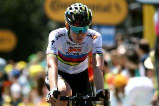 World champion Anna van der Breggen (Boels Dolmans)