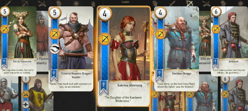 This Witcher mod turns all your fights into games of Gwent