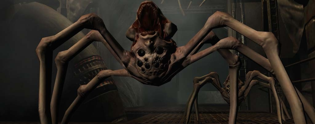 Doom 3 back on Steam, upside-down spider-things overjoyed