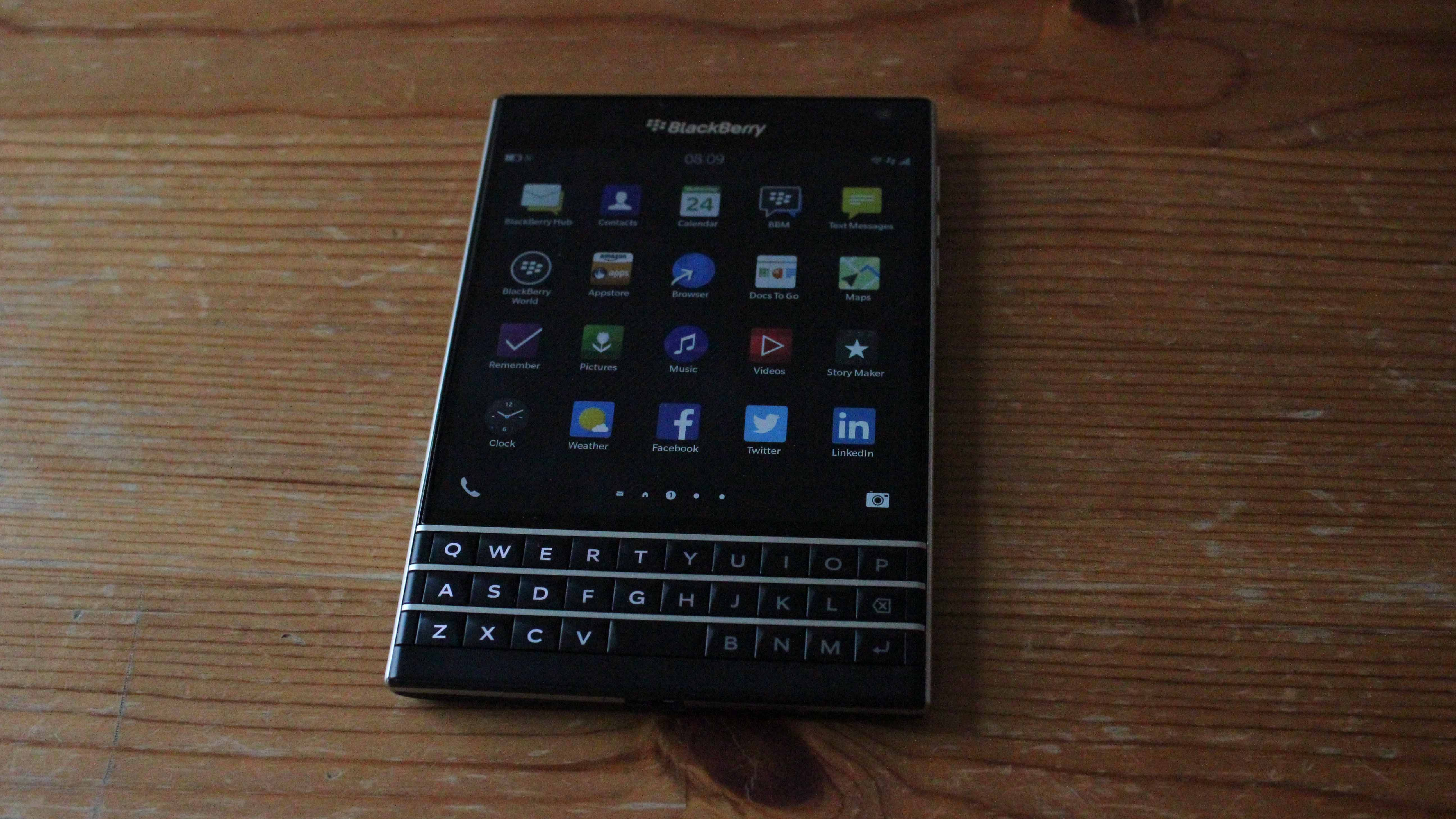 The Passport 2 is only one of BlackBerry's weird upcoming