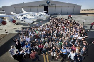 Virgin Galactic's future private astronauts
