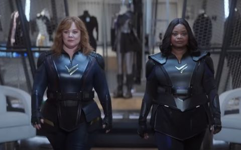Melissa McCarthy and Octavia Spencer star in superhero film Thunder Force coming to the platform on April 9.