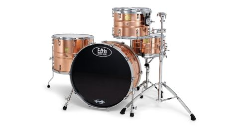 Drums are lacquered to protect the polished finish, but you can specify if you'd prefer them to develop a patina
